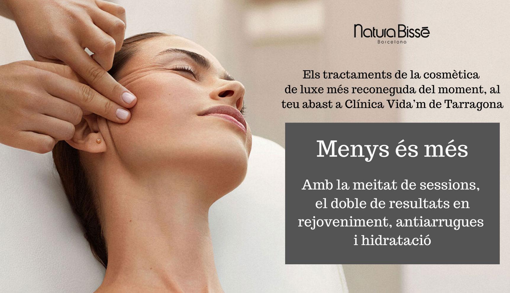 Els tractaments de la cosmetica de luxe mes reconeguda del moment al teu abast a Clinica Vida'm Tarragona